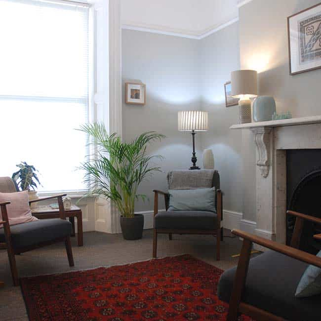 Relaxing surroundings at Cardiff Therapy Rooms